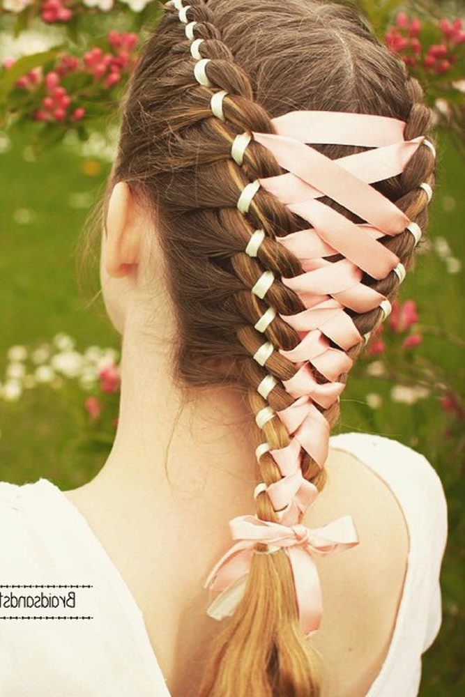 Pin On [Hair Goals] with regard to Most Recently Corset Braided Hairstyles