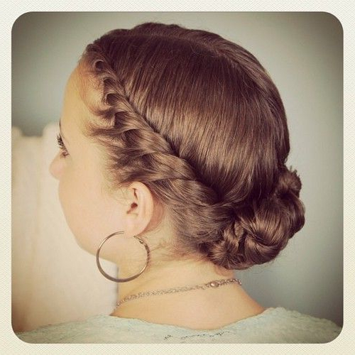 Pin On Hair With Double Twist Bun Updo Hairstyles (View 13 of 25)