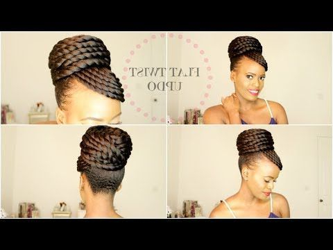 Pin On Protective Styles In Twisted Faux Hawk Updo Hairstyles (View 14 of 25)