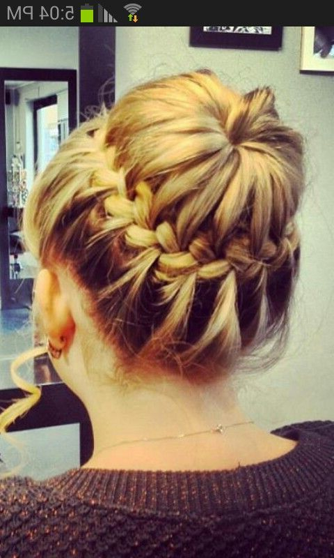Plait Bun | Matric Dance | Wedding Hair Plaits, Bridesmaid in Current Plaited Chignon Braided Hairstyles
