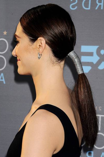 Ponytail Hairstyles 2019: Hair Up Ideas | Glamour Uk With Regard To Wrap Around Ponytail Updo Hairstyles (View 18 of 25)