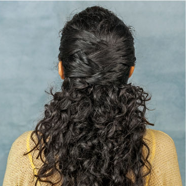 Ponytail Hairstyles | Easy Ponytail Hairstyles | Hairsutras Throughout Zig Zag Ponytail Updo Hairstyles (View 24 of 25)