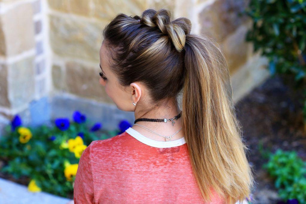 Pull Thru Ponytail | Cute Girls Hairstyles Intended For Pull Through Ponytail Updo Hairstyles (View 20 of 25)