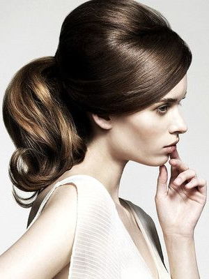 Retro And Romantic 60S Ponytail   Hairspiration!   Easy In Romantic Ponytail Updo Hairstyles (View 15 of 25)