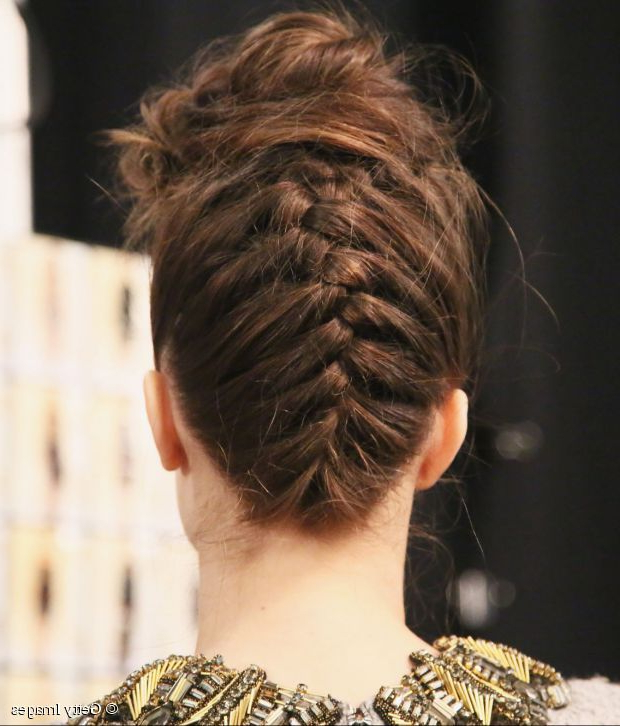 Reverse Braided Updo | Poems | Reverse French Braids, French Pertaining To Reverse French Braid Bun Updo Hairstyles (View 2 of 25)