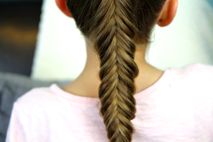 Reverse Fishtail Braid | Cute Braid Hairstyles | Cute Girls Intended For Recent Ponytail Fishtail Braided Hairstyles (View 24 of 25)