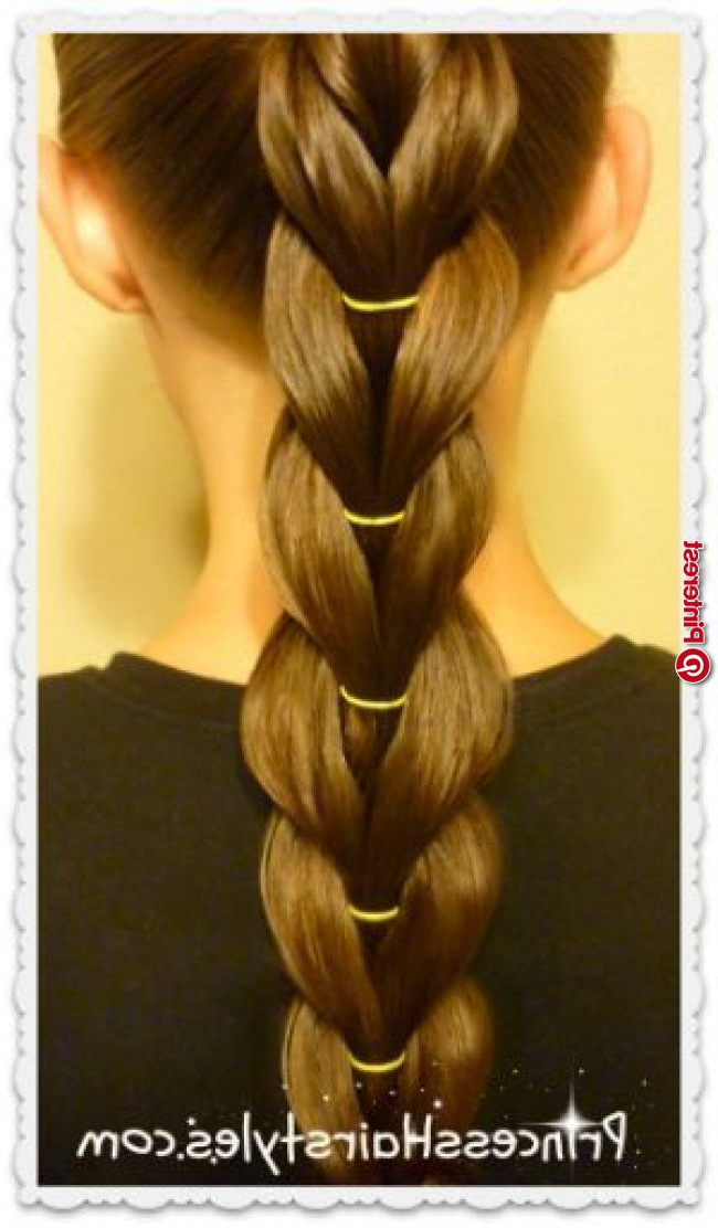 Reverse Pull Through Braid, Ponytail Hairstyle « New Hairstyle For Pull Through Ponytail Updo Hairstyles (View 16 of 25)