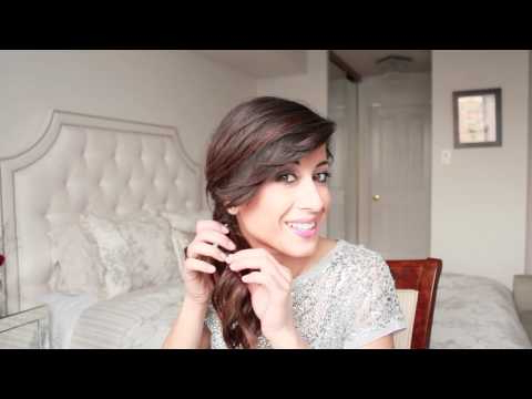 Romantic Ponytail Hairstyle – Youtube For Romantic Ponytail Updo Hairstyles (View 20 of 25)