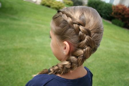 Same Side Dutch Braid | Cute Hairstyles | Cute Girls Hairstyles For Latest Side Dutch Braided Hairstyles (View 22 of 25)