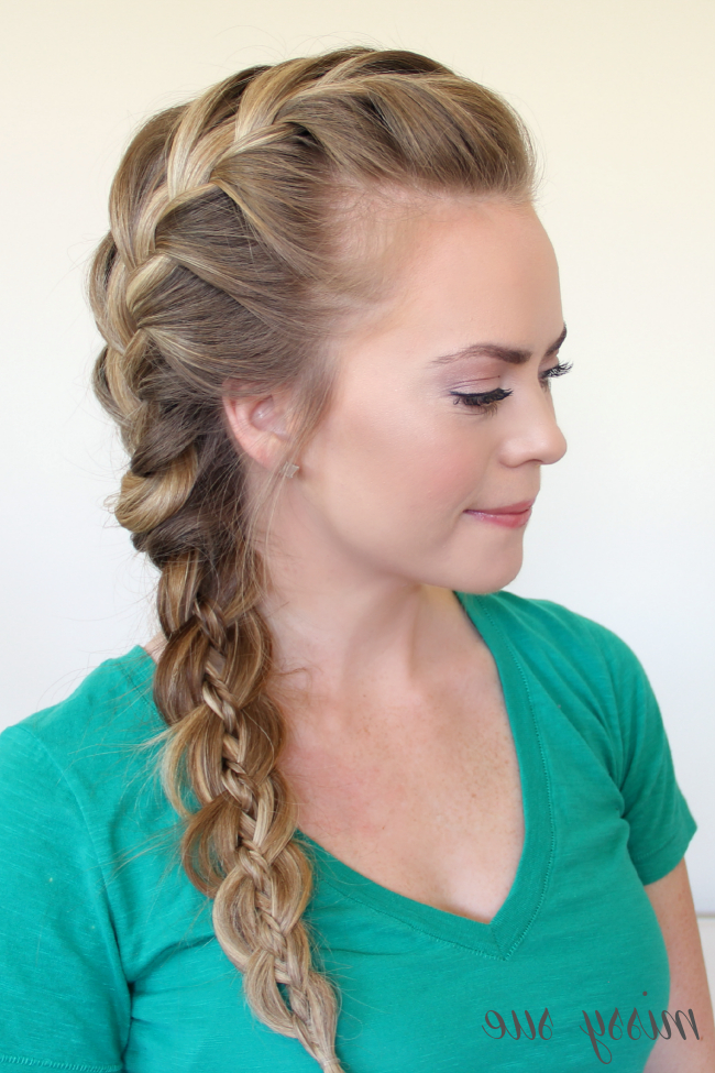 Side French Braid Archives | Page 3 Of 3 | Missy Sue Regarding Most Popular Three Strand Long Side Braided Hairstyles (View 8 of 25)