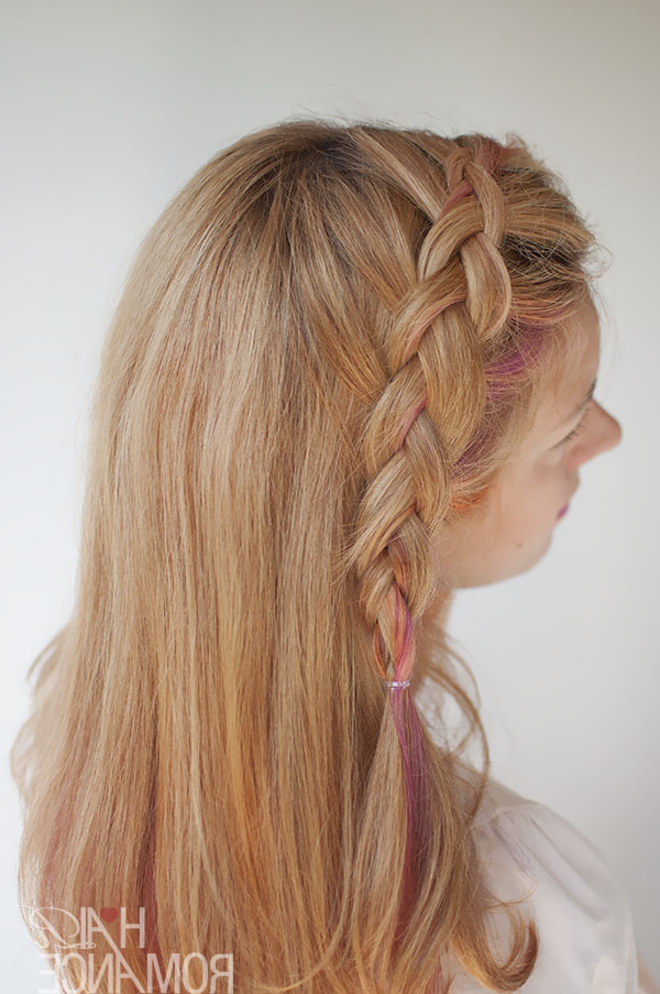 Side Swept Dutch Braid Hairstyle Tutorial – Hair Romance Regarding Best And Newest Side Dutch Braided Hairstyles (View 24 of 25)