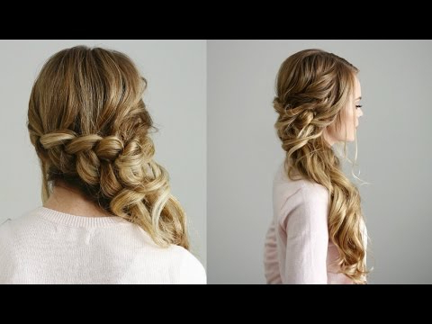 Side Swept Dutch Braid | Missy Sue With Most Popular Side Swept Carousel Braided Hairstyles (View 12 of 25)