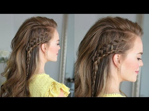 Side Swept Ladder Braid | Missy Sue – Youtube Inside 2020 Side Swept Carousel Braided Hairstyles (View 9 of 25)