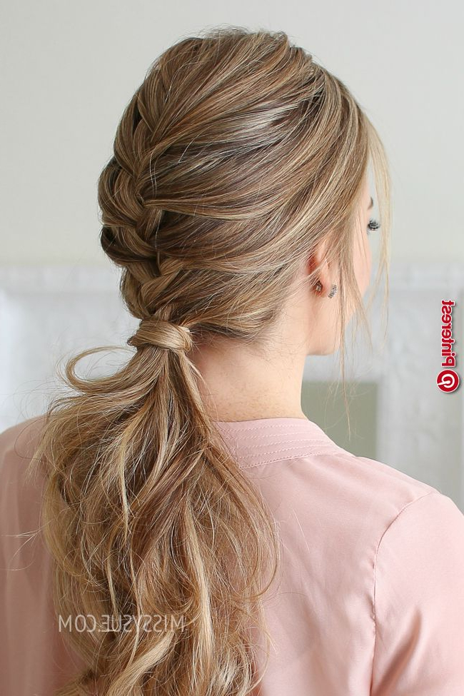 Simple And Modern Tips: Donut Bun Hairstyles Soft Updos In Newest Braids And Bouffant Hairstyles (View 25 of 25)