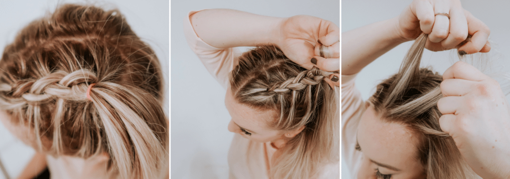 Space Buns W/ Dutch Braids Tutorial Pertaining To Braided Space Buns Updo Hairstyles (View 14 of 25)