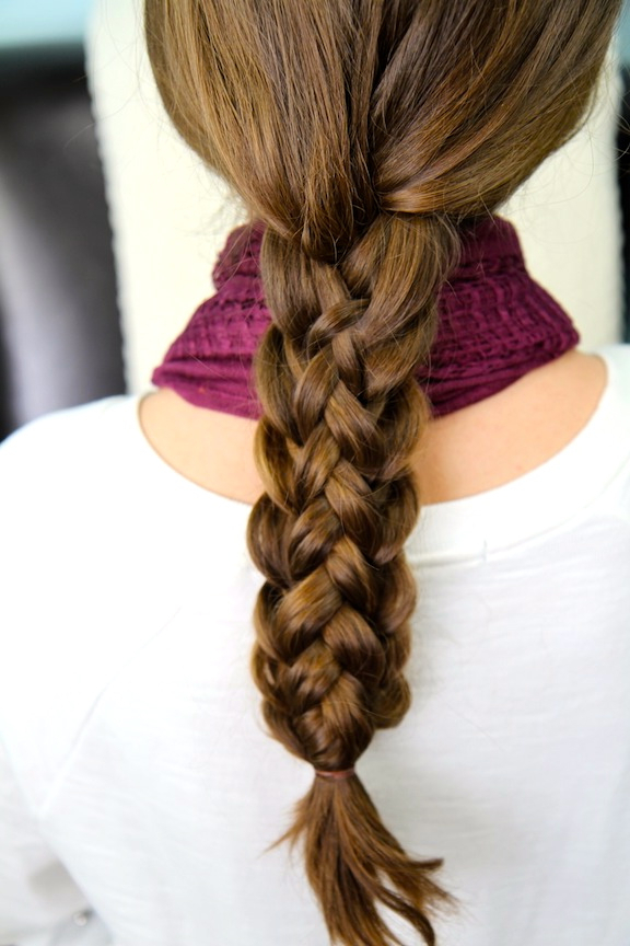 Stacked Braids | Cute Braided Hairstyles | Cute Girls Hairstyles For Most Current Three Strand Pigtails Braided Hairstyles (View 16 of 25)