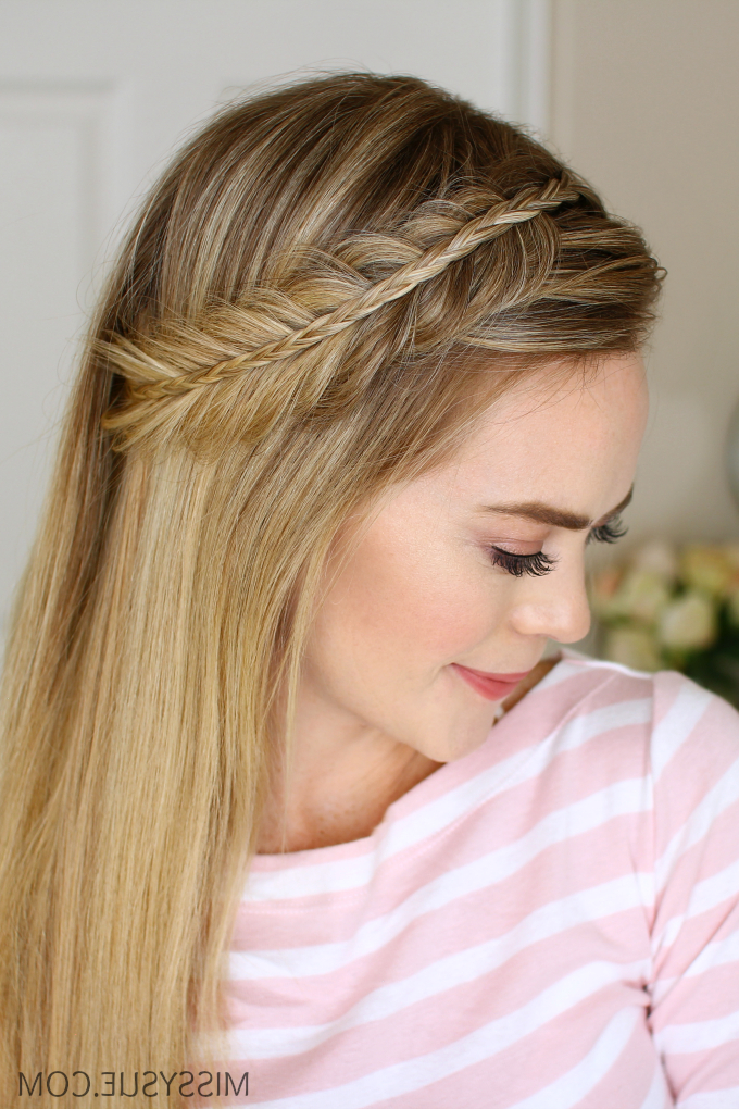Stacked Fishtail And Mini Braid | Missy Sue Inside Stacked Mini Buns Hairstyles (View 10 of 25)