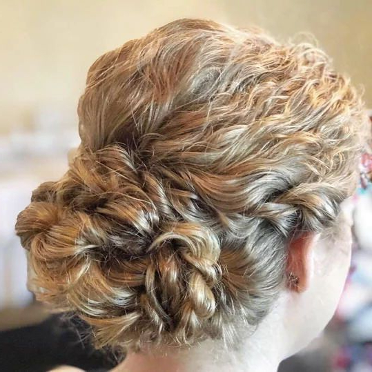 Stunning Wedding Hairstyles For Naturally Curly Hair With Regard To Naturally Textured Updo Hairstyles (View 14 of 25)