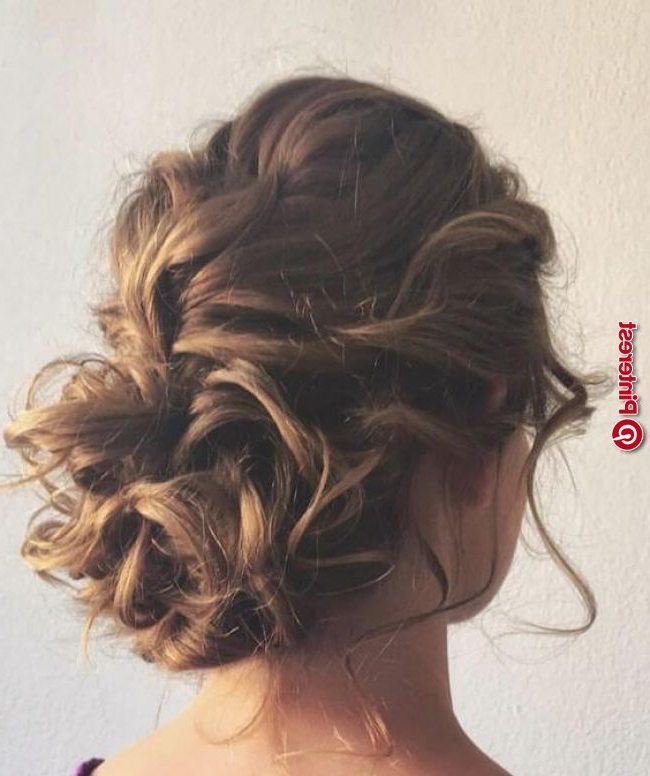 Stylish Messy Bun Hairstyle Ideas « New Hairstyle For Messy Bun Hairstyles (View 20 of 25)