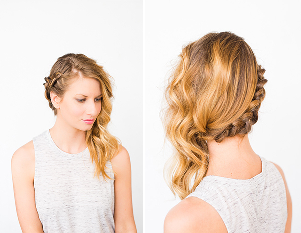 Swept Away: Diy Side Swept Braid And Wave Hair – Paper And Inside Most Popular Side Swept Carousel Braided Hairstyles (View 2 of 25)