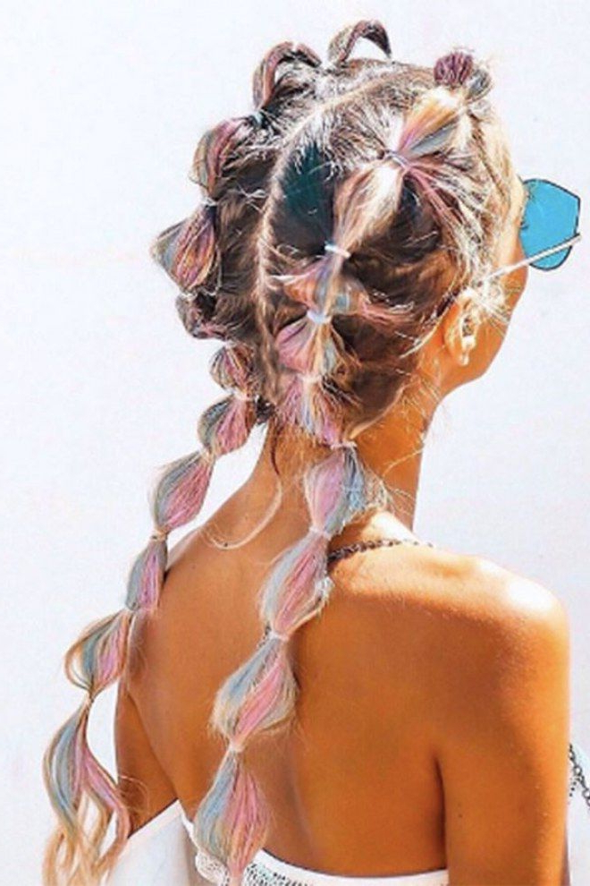 The Best Bubble Braid Styles As Toldinstagram | Rolling Throughout Bubble Braid Updo Hairstyles (View 6 of 25)