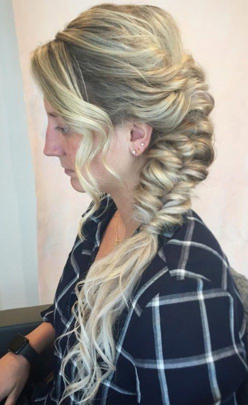 The Bouffant Side Braid | Hair Styles In 2019 | Braided With Most Recently Braids And Bouffant Hairstyles (View 16 of 25)