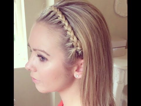 The Headband Braidsweethearts Hair Design – Youtube For 2020 Full Headband Braided Hairstyles (View 10 of 25)