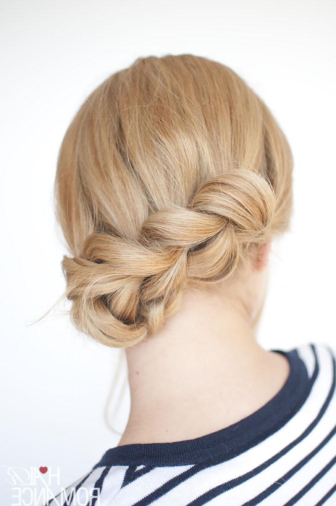 The No Braid Braid – 5 Pull Through Braid Tutorials – Hair For Pull Through Ponytail Updo Hairstyles (View 13 of 25)