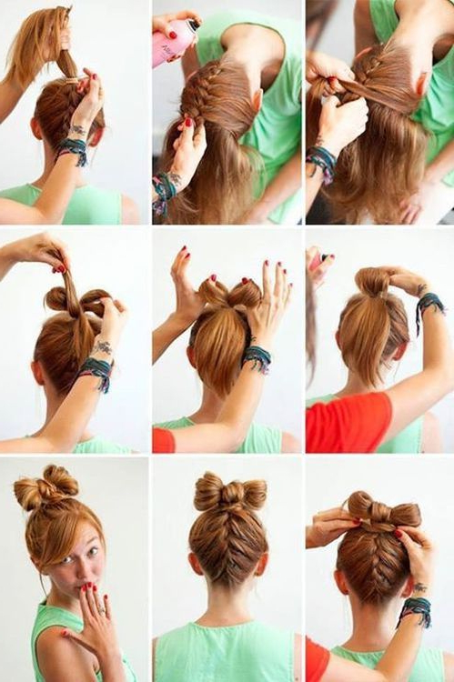 Featured Photo of Braided Underside Hairstyles