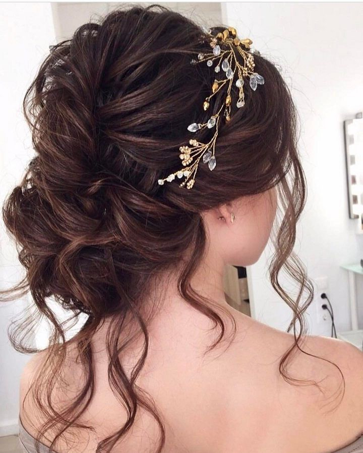 This Breathtaking Loose Updo You Can Wear Anywhere | Wedding Within Curled Updo Hairstyles (View 18 of 25)
