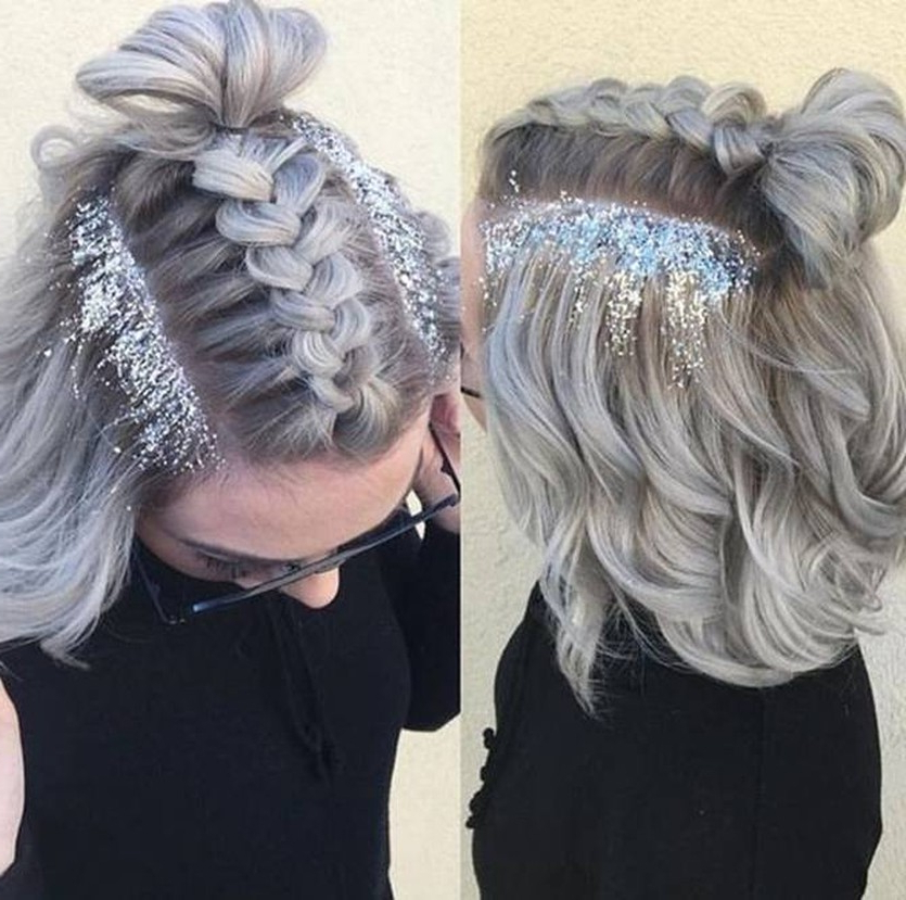 Trend Watch – Mohawk Braid Into Top Knot Half Up Hairstyles In Best And Newest Braided Top Knot Hairstyles (View 17 of 25)