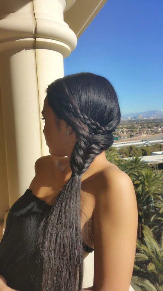 Tutorial: How To Create A Greek Goddess Inspired Braided With Latest Grecian Inspired Ponytail Braided Hairstyles (View 16 of 25)
