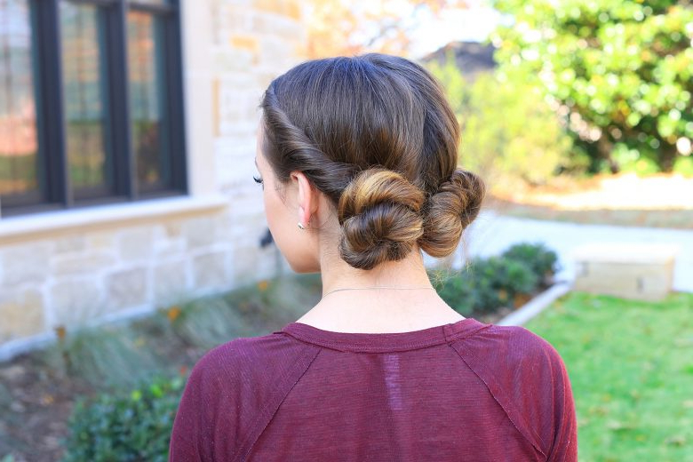 Twist Bun | Cute Girls Hairstyles In Double Twist Bun Updo Hairstyles (View 22 of 25)