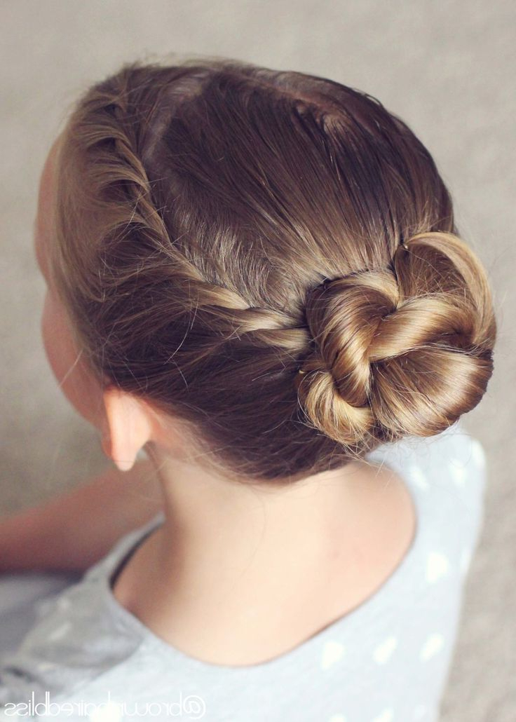 Featured Photo of Twisted Rope Braid Updo Hairstyles