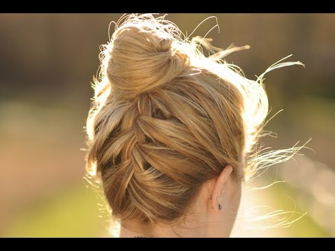 Upside Down French Braided Bun (View 17 of 25)