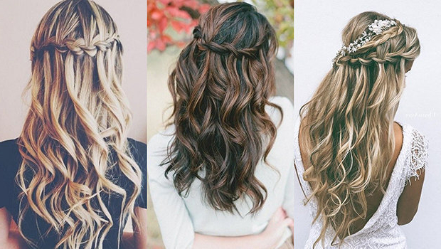 Video: How To Make A Waterfall Braid For An Outstanding Intended For Waterfall Braids Hairstyles (View 4 of 25)