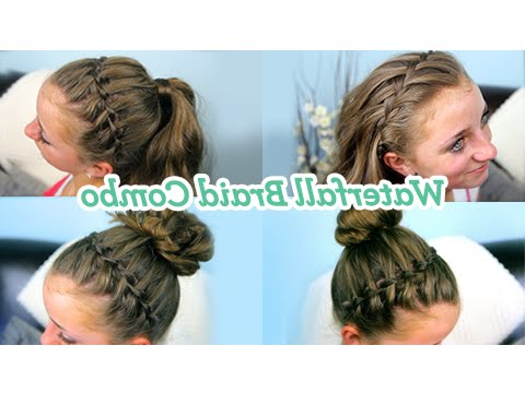 Waterfall Braid Combo | Cute Girls Hairstyles Regarding Best And Newest High Waterfall Braided Hairstyles (View 24 of 25)