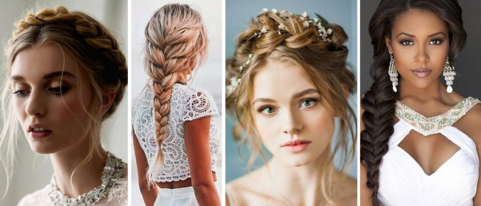Wedding Online – Hair – 21 Must See Braid Ideas For Your Inside Most Recent Halo Braided Hairstyles With Long Tendrils (View 19 of 25)