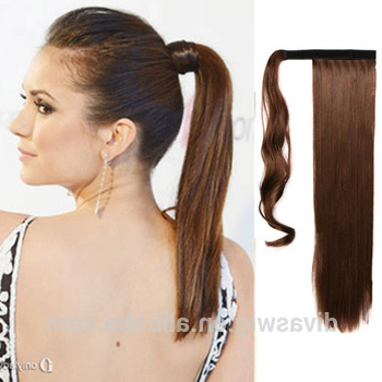 Wholesale 100% Indian Remy Wrap Around Ponytail Extension Drawstring Human Hair Pony Tail – Buy Wrap Around Human Hair Ponytail,wrap Around Human Hair With Regard To Wrap Around Ponytail Updo Hairstyles (View 19 of 25)
