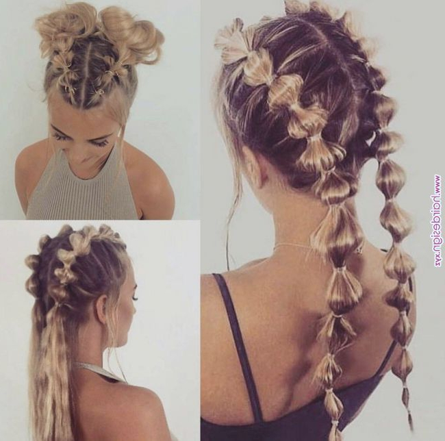 Women Hairstyles Updos Women Hairstyles Updos Women With Regard To Most Popular Braids And Bouffant Hairstyles (View 9 of 25)