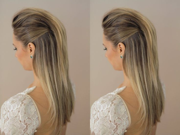 Featured Photo of Long Straight Hair Mohawk Hairstyles