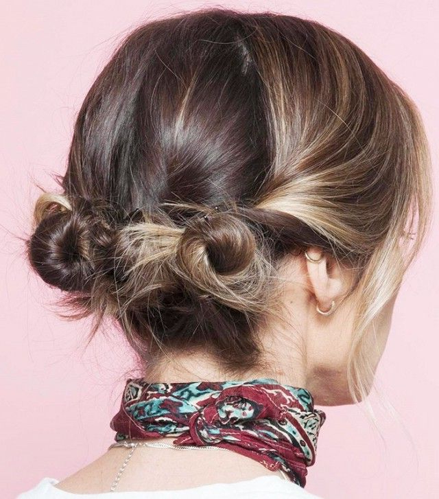 10 Cool (And Easy) Buns That Work For Short Hair | Hair Pertaining To Cute Bob Hairstyles With Bun (View 25 of 25)