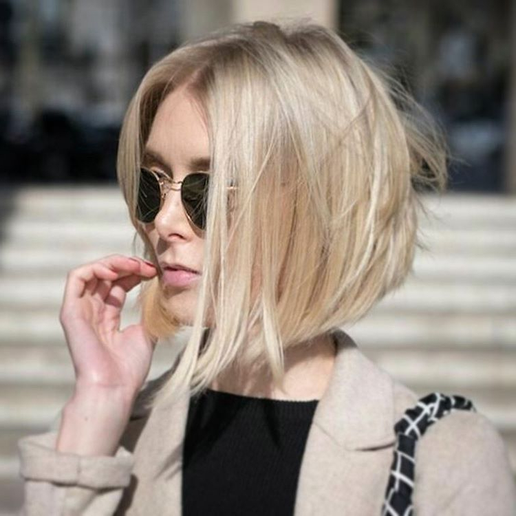 10 Layered Bob Hairstyles – Look Fab In New Blonde Shades For Modern And Stylish Blonde Bob Haircuts (View 9 of 25)