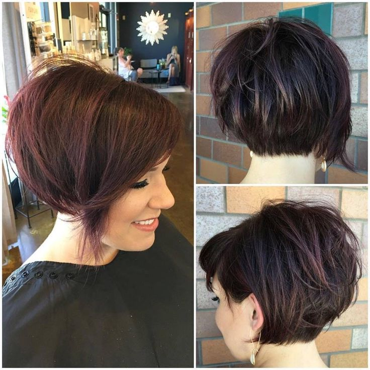 10 Modern Bob Haircuts For Well Groomed Women: Short With Hort Bob Haircuts With Bangs (View 18 of 25)