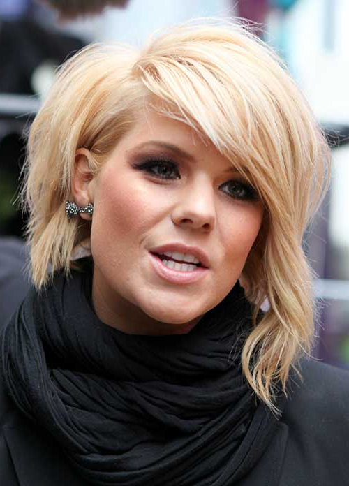 Featured Photo of Messy Short Bob Hairstyles With Side Swept Fringes