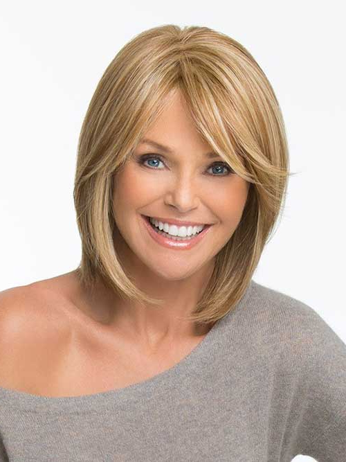10 Short Bob Hairstyles With Side Swept Bangs With Regard To Messy Short Bob Hairstyles With Side Swept Fringes (View 7 of 25)