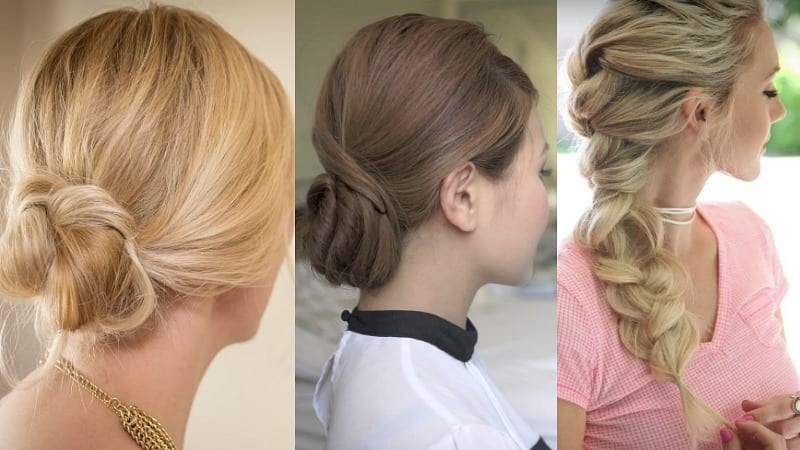 10 Teacher Hairstyles To Rock In The Classroom – Weareteachers Pertaining To High Bun With Twisted Hairstyles Wrap And Graduated Side Bang (View 23 of 25)