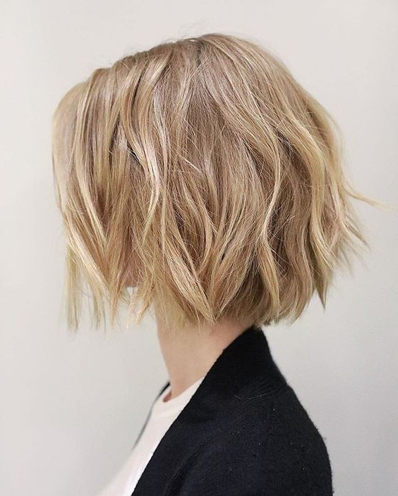 10 Ultra Mod Short Bob Haircuts 2020 Intended For Modern And Stylish Blonde Bob Haircuts (View 11 of 25)