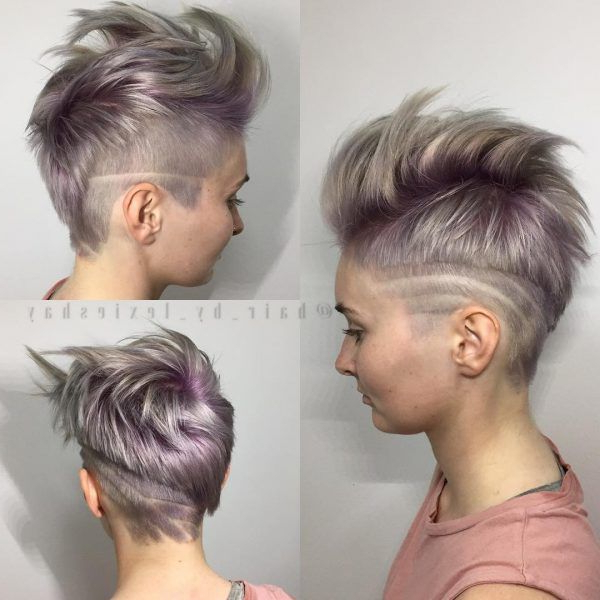 100 Best Short Hairstyles – Chicest Short Haircuts For Short Intended For Asymmetrical Chop Mohawk Haircuts (View 5 of 25)