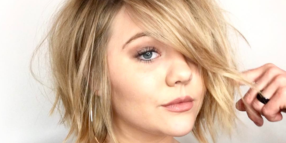 100 Hottest Choppy Bob Hairstyles For Women In 2019 With Chin Length Bob Hairstyles With Middle Part (View 17 of 25)